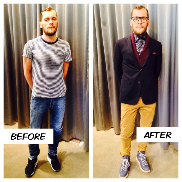 Gotstyle Makeover Story with Sergey