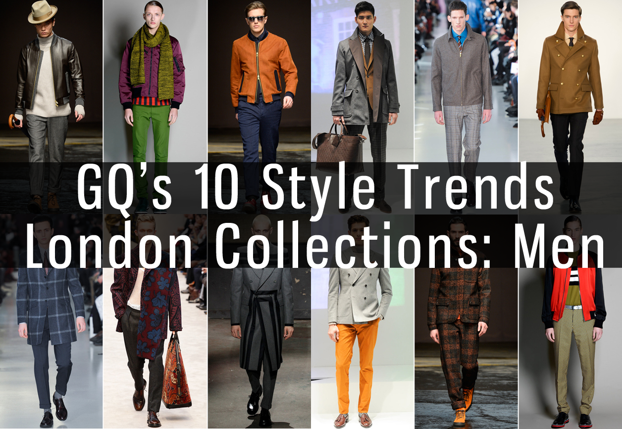 GQ's London Collections Trends
