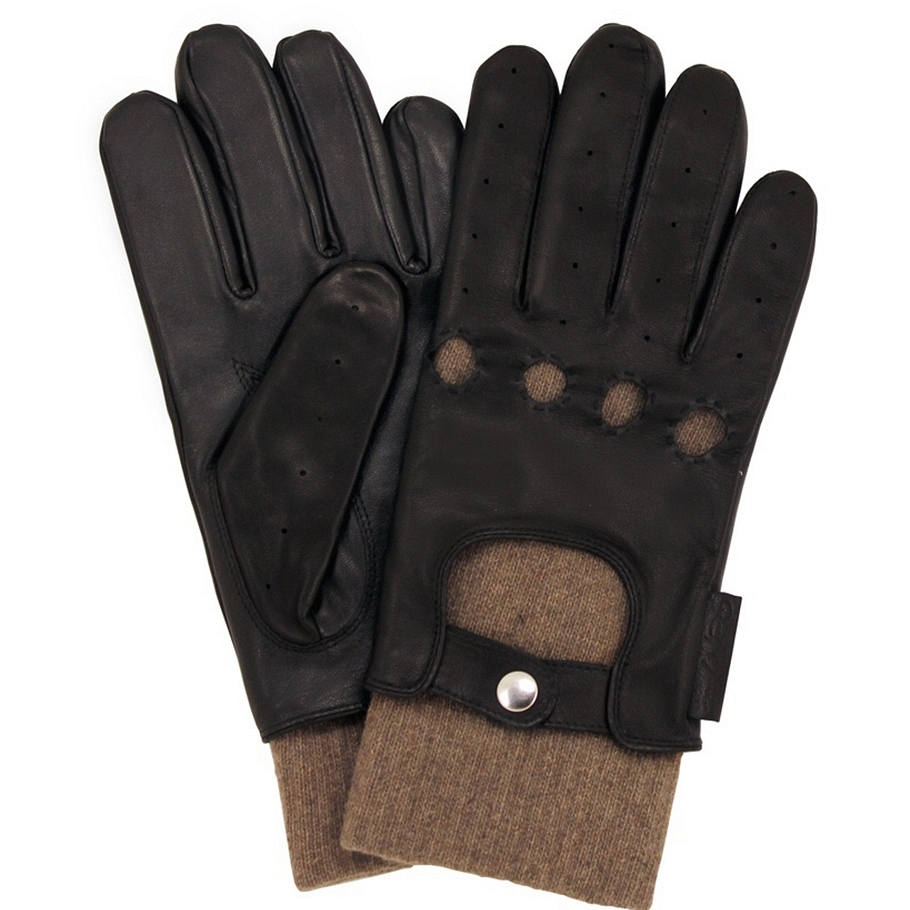Quill & Tine Touchscreen Leather Driver Glove: $160