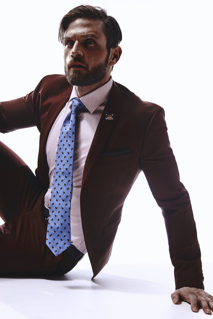 Tiger of Sweden Evert Barberis Peak Lapel Suit: $899