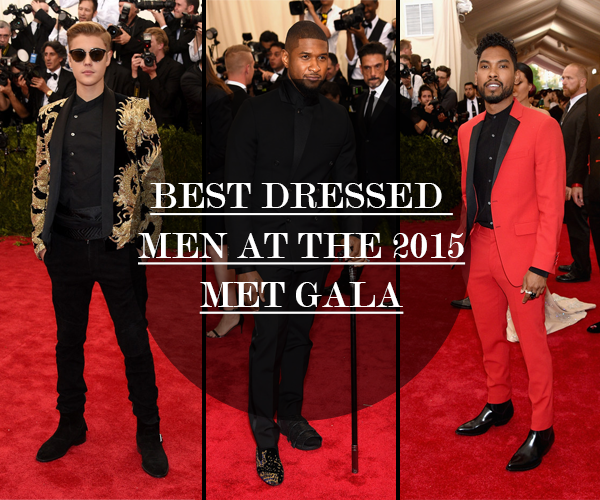 BEST DRESSED  MEN AT THE 2015 MET GALA