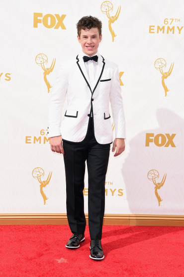 LOS ANGELES, CA - SEPTEMBER 20: Actor Nolan Gould attends the 67th Annual Primetime Emmy Awards at Microsoft Theater on September 20, 2015 in Los Angeles, California. (Photo by Jason Merritt/Getty Images)