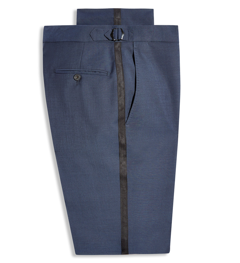 Hardy Amies Mohair Tuxedo Pant