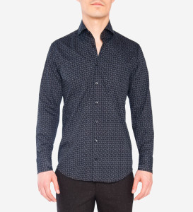Blue Industry Paisley Print Shirt $155