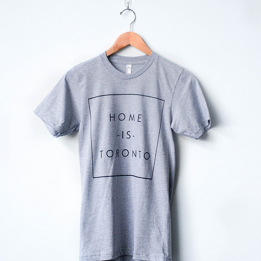 Peace Collective Home is Toronto Boxed T-Shirt $32