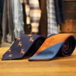 Seaward & Stern Printed Tie $150
