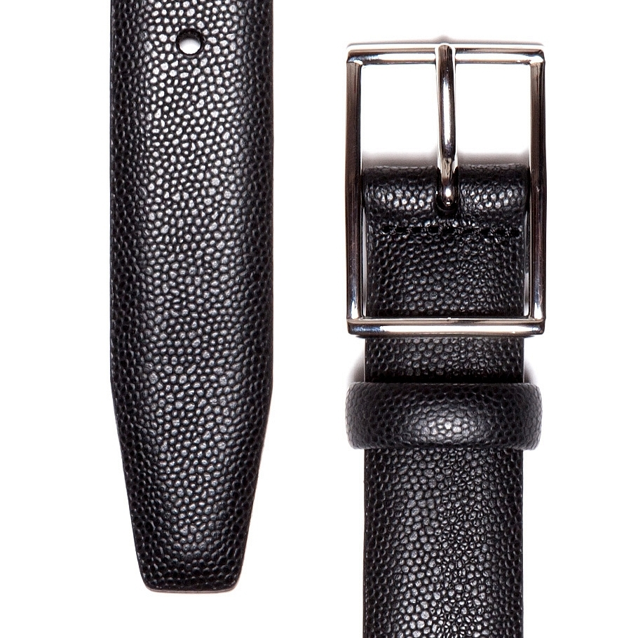 Andersons Pebbled Leather Belt $160