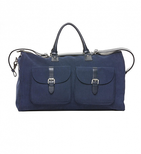 Hook + Albert Canvas Garment Weekender Bag $489