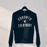 Peace Collective Toronto vs Everybody Crew Neck Sweater $60