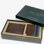 Ted Baker Wallet and Card Gift Set $125