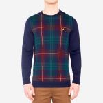 Lyle & Scott - Tartan Crew Neck Sweater