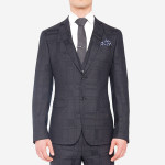 Lab - Tonal Abstract Check Suit