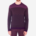 Ted Baker - Zano Ombre Pattern Sweater
